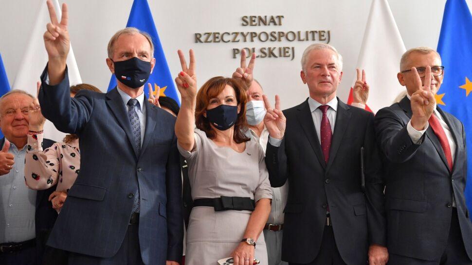 Senat odrzucił ustawę anty-TVN w całości. Projekt wraca do Sejmu