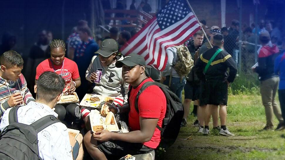 """Święto 4 lipca w Orzyszu. """"Jesteśmy dumni, że jesteśmy Amerykanami"""""""