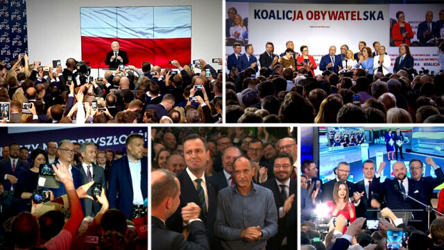Five nationwide committees have won seats in the lower house of Polish parliament