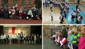 Akcja Rekord dla Niepodległej. Dzieci śpiewały hymn