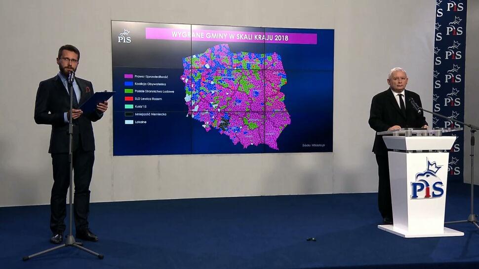 PiS mówi o zwycięstwie w radach i sejmikach, opozycja o zwycięstwie w miastach