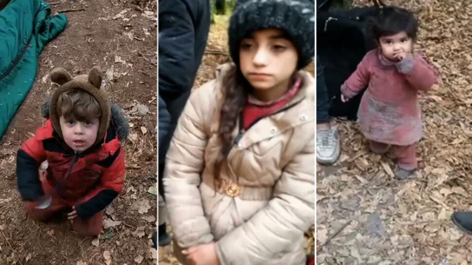 Co się dzieje z dziećmi z Michałowa? Nowe nagranie z pogranicza