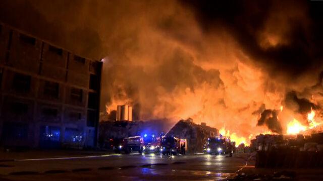 Był gigantyczny pożar, jest problem. Prokuratura: zaczęło się od podpalenia