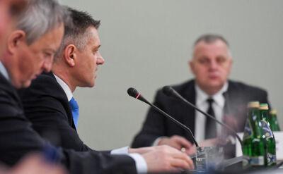 Jacek Kapica przed komisją do spraw VAT