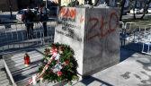"""Nie wiadomo, czy pomnik ks. Jankowskiego wróci na cokół. """"Może być dewastowany"""""""