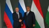 Władimir Putin z wizytą w Budapeszcie. Spotkał się z Viktorem Orbanem