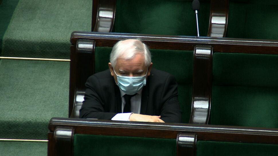 Słowa o szantażu i porównania do Moskwy. Jarosław Kaczyński kontra Unia Europejska
