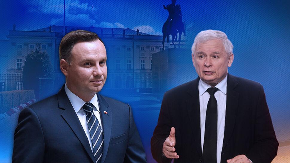"""Jak wyglądają relacje prezydent-PiS po prezentacji projektów ustaw o sądownictwie? """"Kukiz, jak i PiS i Duda, jedzą sobie z dzióbków"""""""
