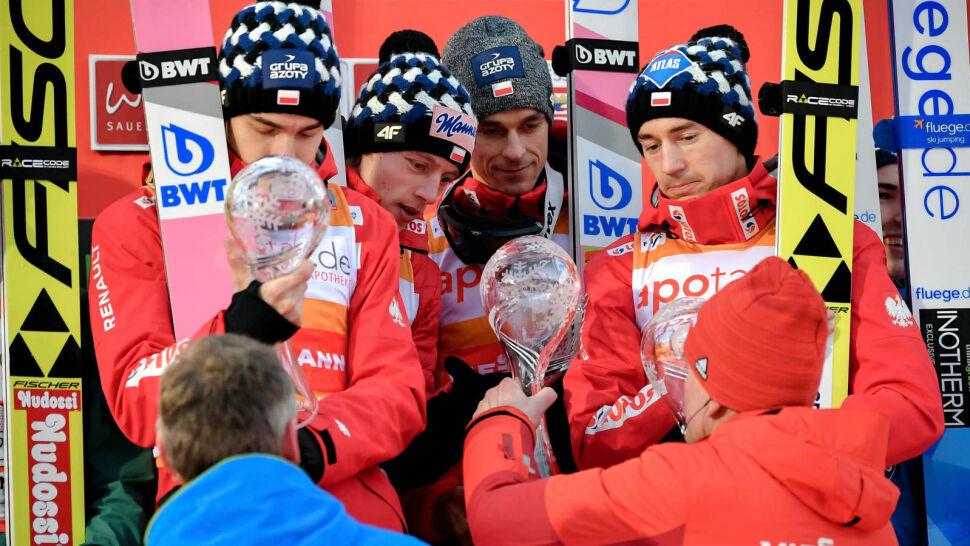 Stoch, Żyła, Kubacki i Wolny wygrali drużynowy konkurs w Willingen