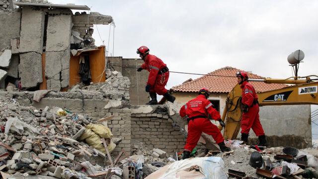 Aresztowania po trzęsieniu ziemi w Albanii