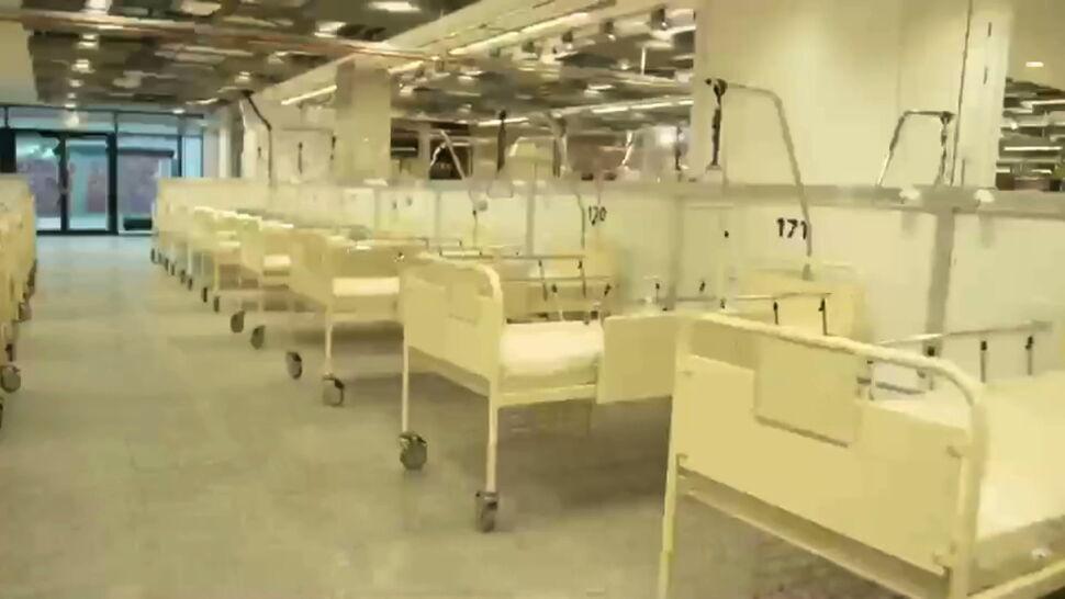 W listopadzie szpital na warszawskim stadionie kosztował prawie 6 milionów złotych