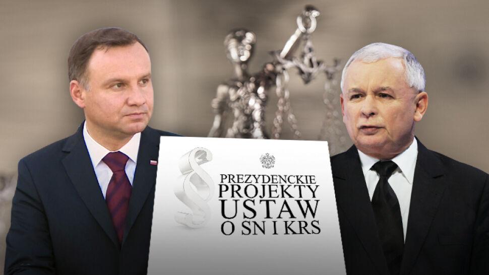 """""""Fakty"""" nieoficjalnie: propozycje prezesa PiS mają zostać uwzględnione w projektach prezydenta"""