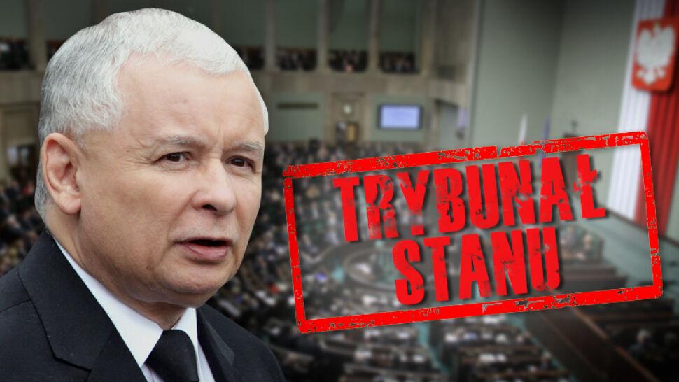 """Wniosek o Trybunał Stanu dla Kaczyńskiego w porządku obrad. """"Robią sobie żarty"""""""