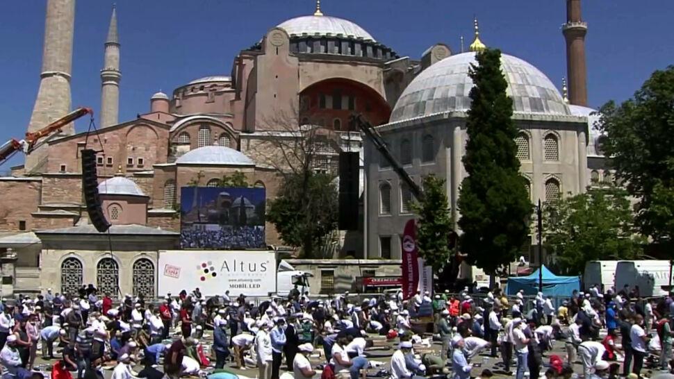 Hagia Sophia znów stała się meczetem. W Syrii ma powstać kopia świątyni