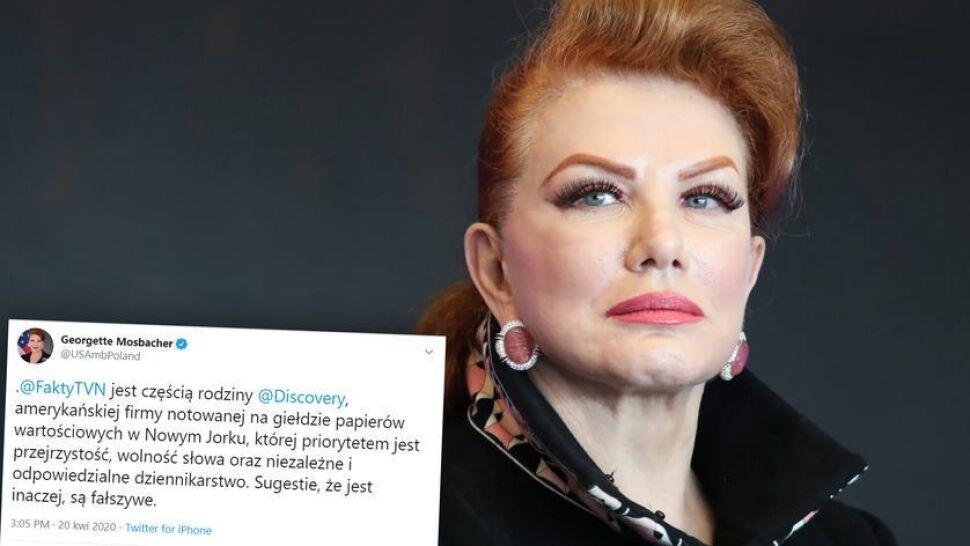 """Komentarz ambasador USA po oświadczeniu redakcji """"Faktów"""" TVN"""