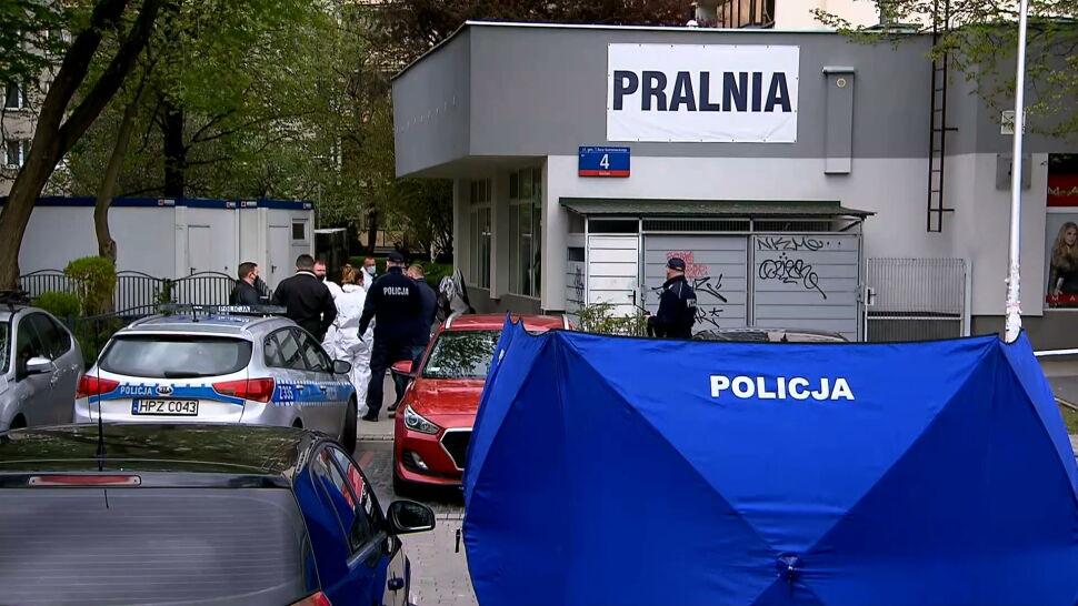 Śledczy badają, co dokładnie wydarzyło się w pralni na Gocławiu