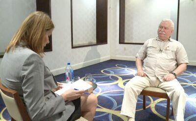 """""""Wybaczam, mam gdzieś"""". Lech Wałęsa w TVN24 o swoich krytykach, teczkach i szafie Kiszczaka"""