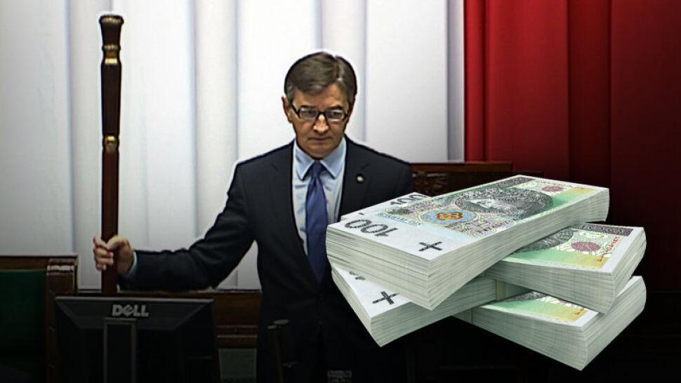 13 tys. złotych premii dla wicemarszałków Sejmu