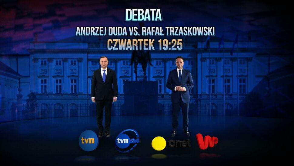 Debata TVN, TVN24, Onet i WP. Transmisja może dotrzeć nawet do 20 milionów wyborców