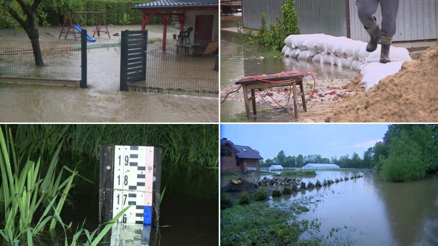 Dziesiątki ewakuowanych, setki zalanych budynków. Raport podtopieniowy z południa Polski