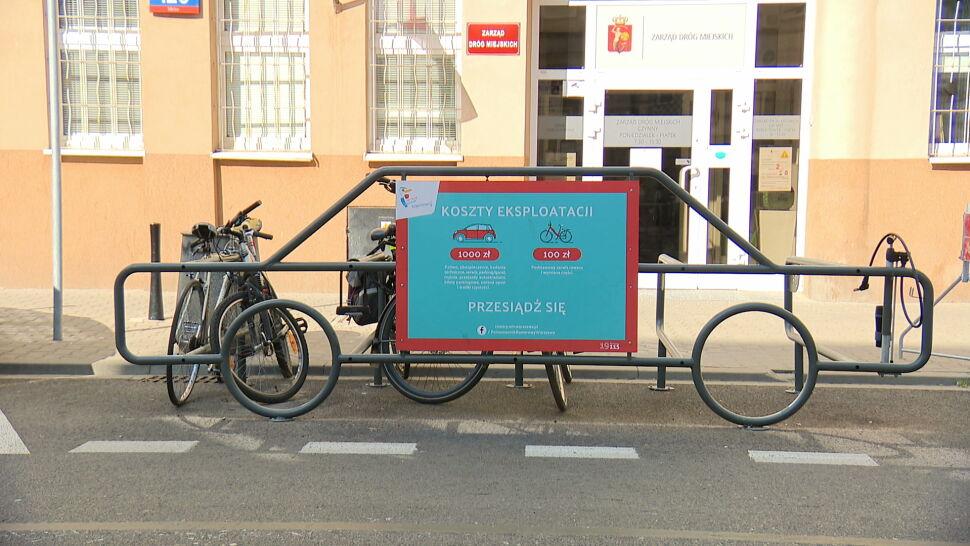 Stojaki na rowery mogą być zarzewiem konfliktu. Wystarczy, że mają nie ten kształt