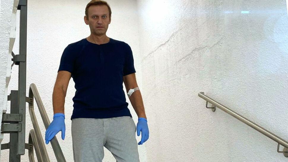 Aleksiej Nawalny wyszedł ze szpitala w Berlinie