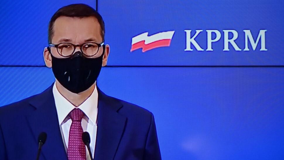 """""""Sto dni solidarności"""". Premier przedstawił nowe założenia w walce z COVID-19"""