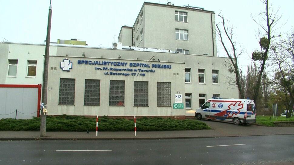 Kryzys w szpitalu miejskim w Toruniu. Wielu pracowników zakażonych koronawirusem