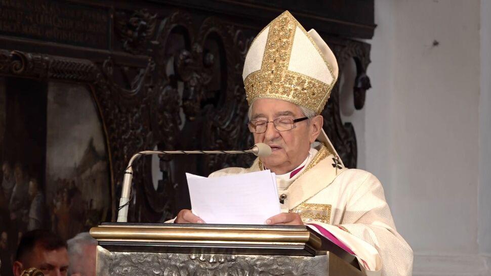 Papież przyjął rezygnację Sławoja Leszka Głódzia