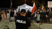 Protesty po przyjęciu ustawy o SN. Cztery osoby zatrzymane, grożą im zarzuty