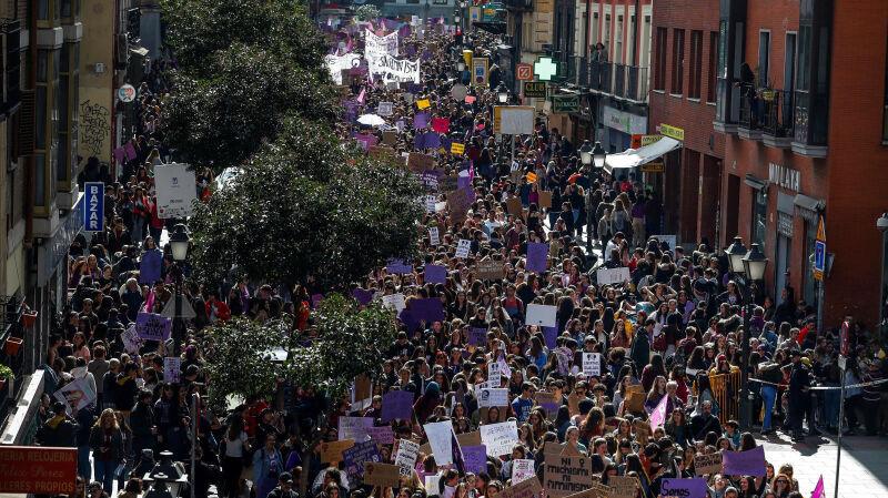 08.03.2019 | Maszerują i walczą o swoje prawa. Dzień kobiet to dzień walki