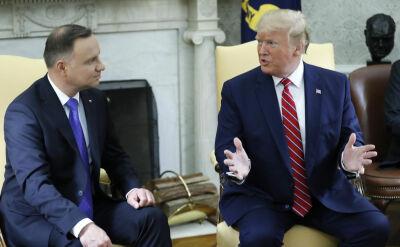"""""""Jest porozumienie i otworzy ono nowy rozdział"""". Andrzej Duda z wizytą u Donalda Trumpa"""