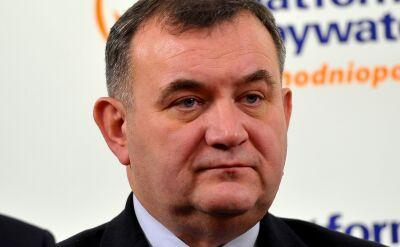 W piątek Gawłowski pojawi się w prokuraturze