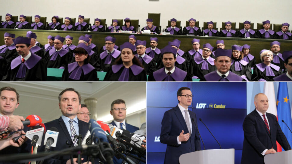 Jeden rząd, dwa stanowiska. Ziobro mówi o nieważności, Morawiecki składa wniosek do TK