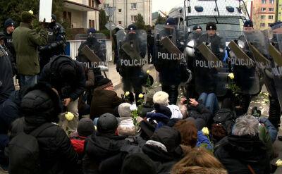 Blokowali marsz nacjonalistów w Hajnówce. Ruszyły procesy