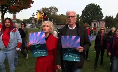 """Jane Fonda w obronie klimatu. """"Jedyna rzecz, którą może zrobić celebrytka, to zwrócić uwagę ludzi"""""""
