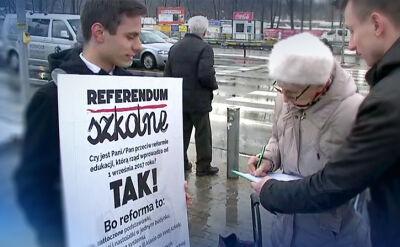 25.02.2017 | W kampanii PiS zapowiadał pytanie obywateli o opinie. Jak będzie z referendum edukacyjnym?