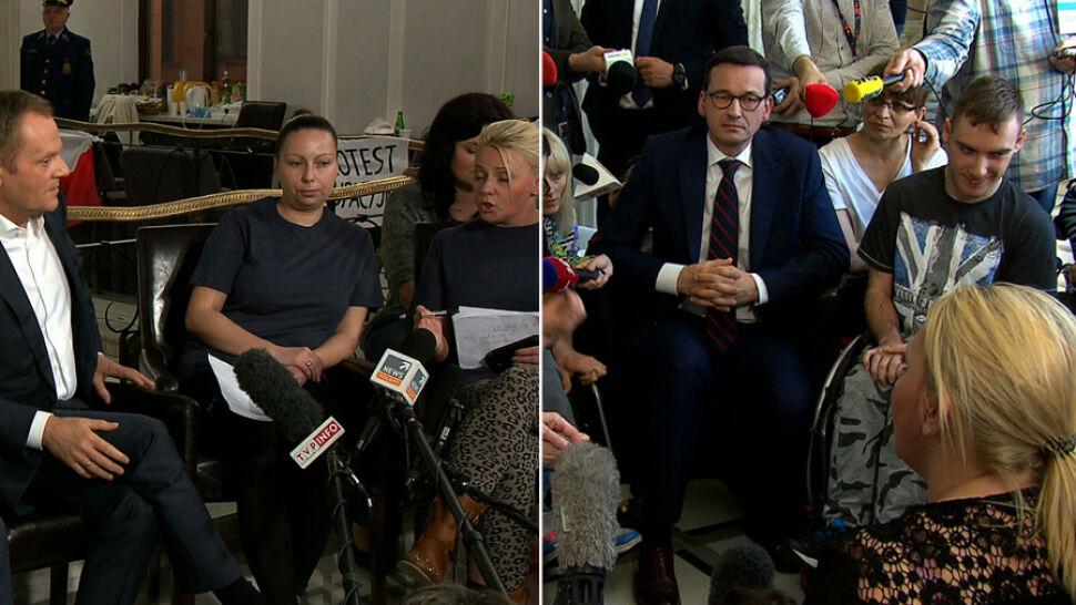 Od lat walczą o pomoc. Tak relacjonowaliśmy protesty osób z niepełnosprawnościami w 2014 i 2018 roku