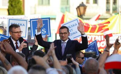 """""""Pułapka"""" Morawieckiego. Politycy PiS muszą tłumaczyć słowa premiera"""