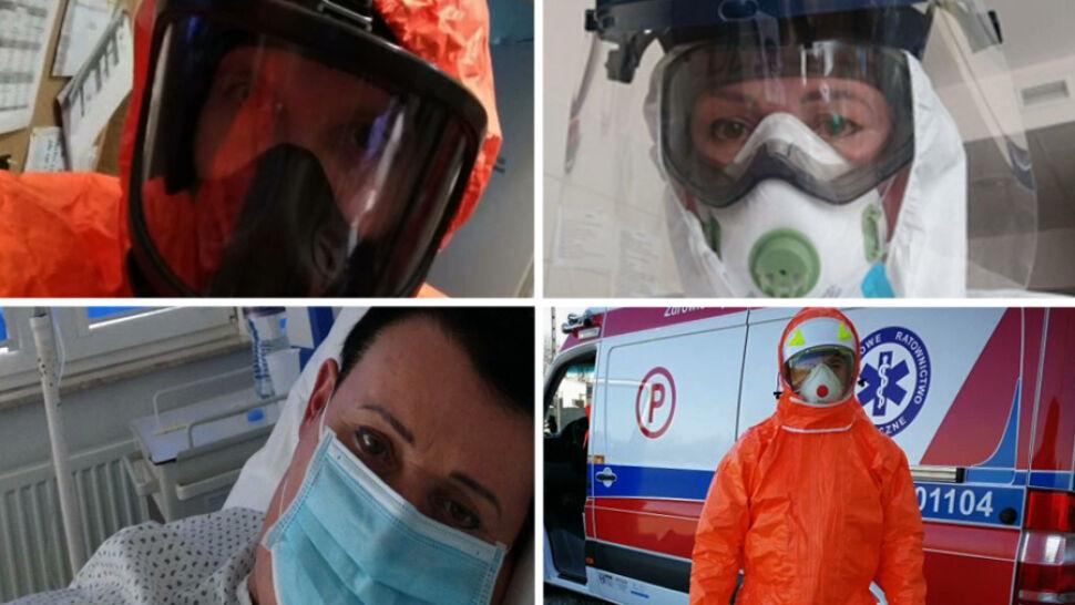 To oni walczą na pierwszej linii frontu. Z czym mierzą się medycy?