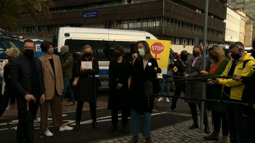 Kolejny dzień protestów po orzeczeniu TK w sprawie aborcji