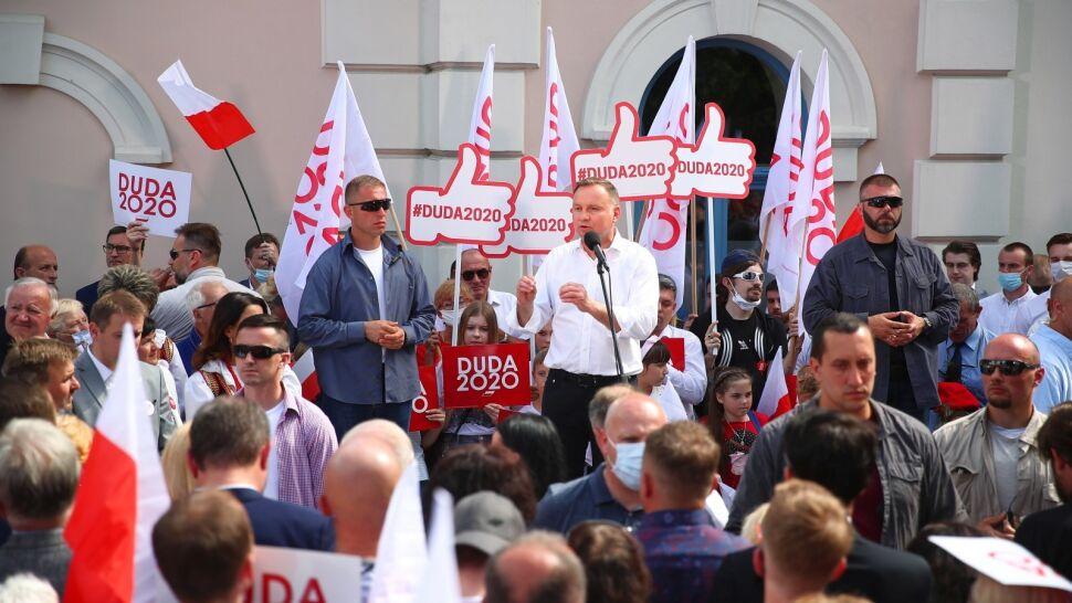 Andrzej Duda z kampanią na Śląsku i w Małopolsce