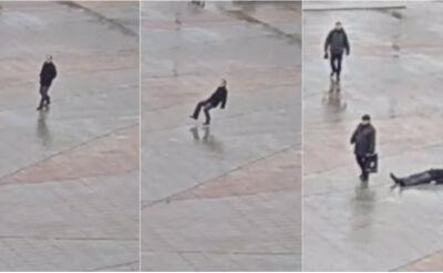 Upadł i stracił przytomność w centrum Łodzi. Dopiero trzeci świadek mu pomógł