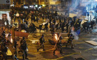 """Bitwa o politechnikę w Hongkongu. """"Nie możemy się już zatrzymać"""""""