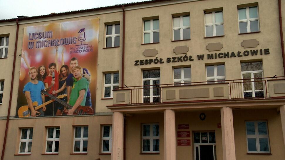 """Klasa disco polo w szkole w Michałowie. """"To jest eksperyment"""""""