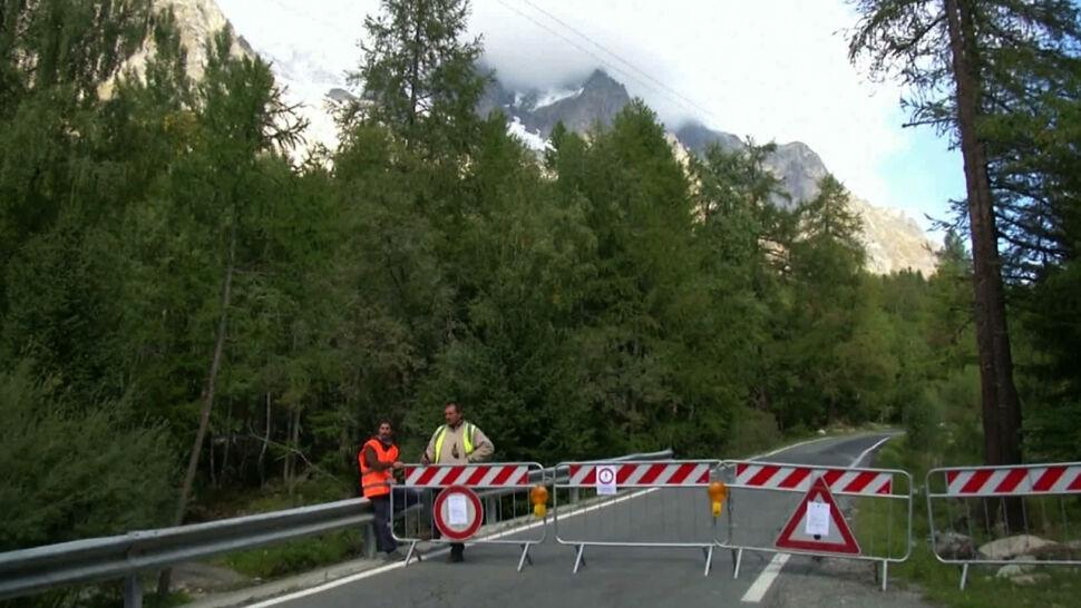 Globalne ocieplenie częścią codzienności. Lodowiec z Mont Blanc zagraża mieszkańcom