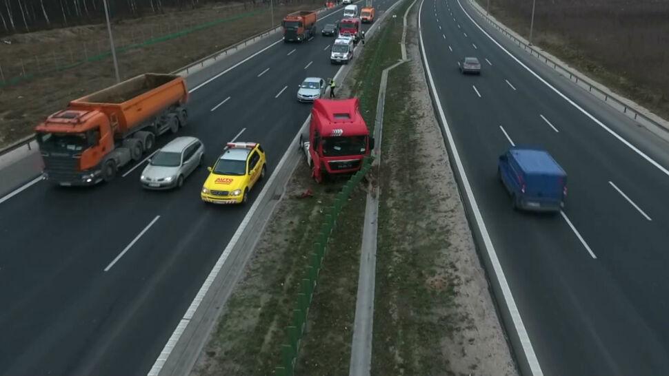 Seria wypadków na polskich drogach