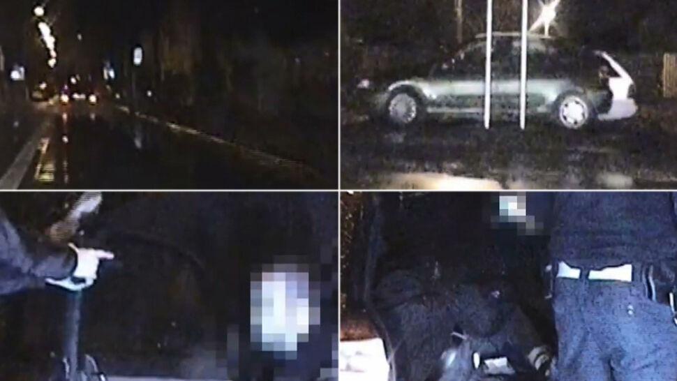 Siedmiu pasażerów i pijany kierowca. Policyjny pościg za audi