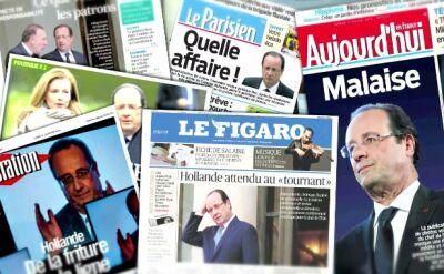 14.01.2014   Francja: Prezydent Hollande ma romans?