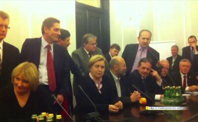 05.12.2013 | PiS przejęło obrady nie swojej komisji